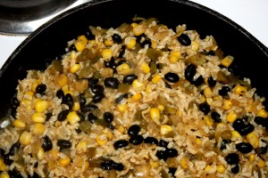 black-beans-and-rice-on-stovetop