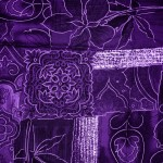 purple-patchwork-fabric-texture